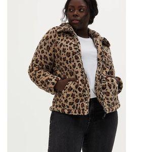 Torrid Faux Fur Zip Jacket - 3X